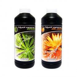 Engrais de croissance et floraison - Pack Hydroponic Grow & Bloom 500ml