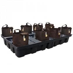 Système Big Pot Pouch Soil 200-8 - Platinium Hydroponics