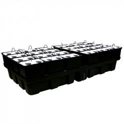 PLATINIUM AEROPRO 24 pots 96 2m2 200x100cm