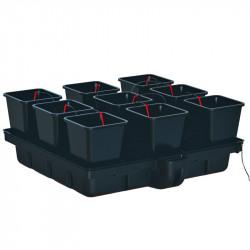 Platinium HydroStar 120 9 Big Pots 18L 120x120cm