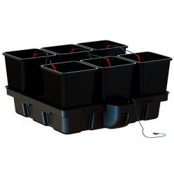 Platinium HydroStar 100 Big Pots 6 pots 25L 100x100cm