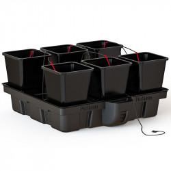 Platinium HydroStar 100 Big Pots 6 pots 18L 100x100cm