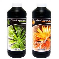 Engrais de croissance et floraison - Pack Hydroponic Grow & Bloom 1L