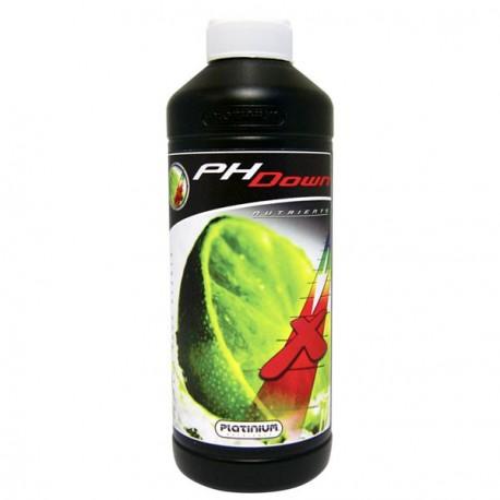 Engrais Acid pH Down Platinium Nutrients -500ml