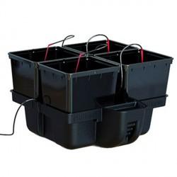 Platinium HydroPro 60 (4 pots, 4 to 16 plants) 60x60x38,5cm