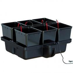 Platinium Hydroponics - Hydropro 6 pots - MJ 500