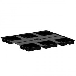 TRAY PLATINIUM 100 BIG POTS