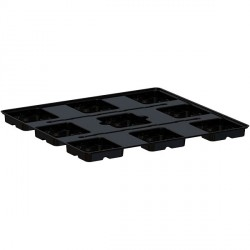 TRAY PLATINIUM 120 BIG POTS