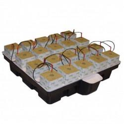 Platinium HydroStone 1m² 20 cubes 100x99x26,5cm