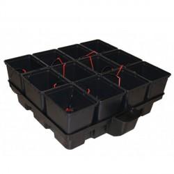 Platinium HydroPro 1 m² 12 pots 100 x 99 x 38,5 cm