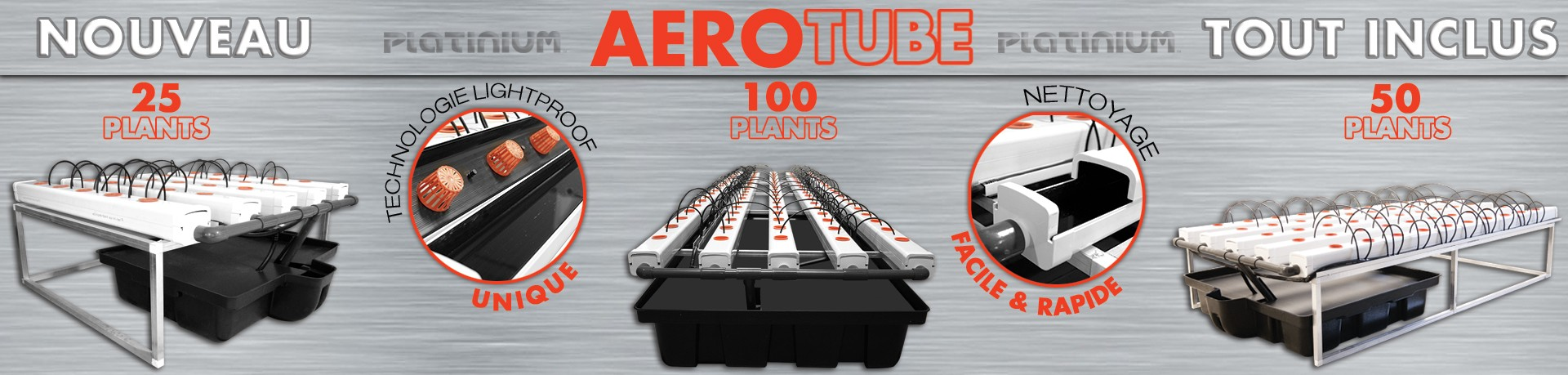 Kit aérotube